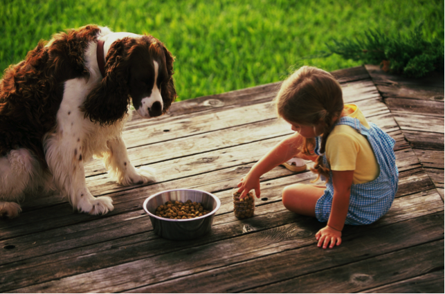 helping kids with pet loss Entrusted Pets